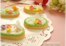 maunico アイシングクッキー ちょうちょう フォトレッスン