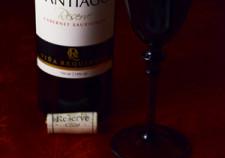 赤ワイン×グラス