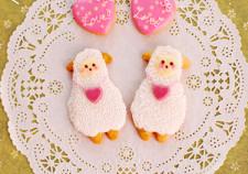 maunico-アイシングクッキー羊フォト用