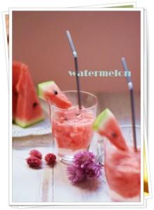 水色watermelon文字